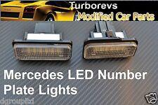 REAR BRIGHT LED WHITE XENON 6000K LIGHT HOUSING BULBS MERCEDES CLS E CLASS