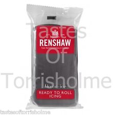 Renshaw Fondant pro Grey 250g Rollfondant grau