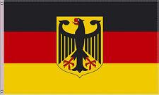 Markenlos Fahne Deutschland Flagge EM WM 90x150 mit Adler
