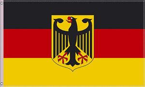 Fahne Deutschland Flagge Fahnen EM WM 90x150 mit Adler