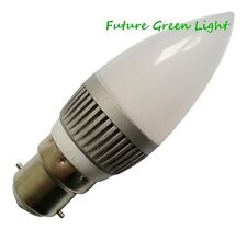B22 CANDLE 12 LED 240V 2.5W 180LM WARM WHITE BULB ~40W