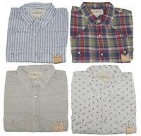 Ralph Lauren Denim and Supply Mens Western Stitch Snap Button Down Slim Shirt
