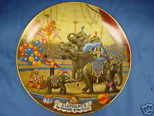 CIRCUS  COLLECTOR PLATES    SET OF 8