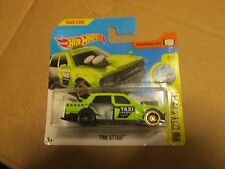 HOT WHEELS 2017 092/365 CITY WORKS 4/10 TIME ATTAXI NEW ON CARD