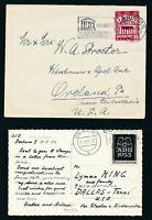 BERLIN 1953, Mi. 110-11 Brief, zwei portorichtige EF!! Mi. 135,--!!