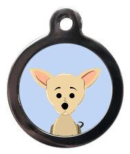 Chihuahua Custom Pet ID Tags - Cute Dog Identification Tag - ENGRAVED FREE -