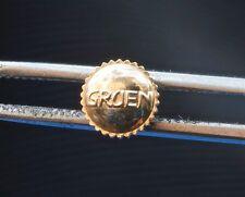 Vintage Gruen watch 1 gold vintage GRUEN tap size 10 dustproof crown 58 sold