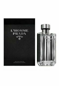 Prada L'Homme by Prada 5.1 oz/ 150 ml EDT Cologne for Men New In Box