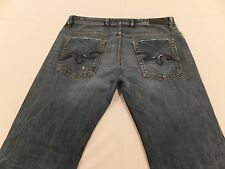 Diesel Industry Zaghor 8SS 36 x 28 Bootcut Italy Button Fly Men's Jeans
