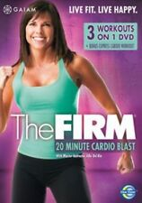 The Firm - 20 Minute Cardio Blast [DVD], in Good Condition, ,