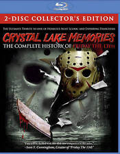 Crystal Lake Memories: Complete History Of Friday Blu-ray SEALED