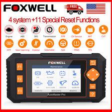 FOXWELL NT634 OBD2 Diagnostic Tool ABS Airbag SAS EPB Oil TPMS DPF Reset Scanner