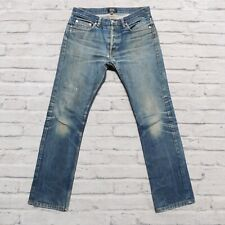 APC New Cure H Distressed Denim Jeans Size 29 Faded Destroyed