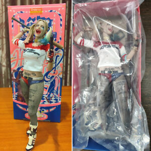 Crazytoys Suicide Squad Harley Quinn 1:6 PVC Figure Model with Box with Box