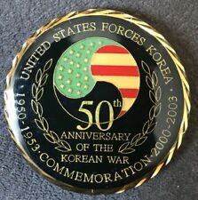 United States Forces Korea 50th Anniversary 2003~ Challenge Coin (AUTHENTIC)