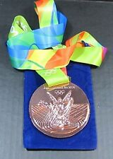 BRONZE MEDAL - 2016 RIO OLYMPICS - WITH SILK RIBBON & STORAGE POUCH
