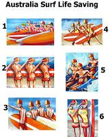 Original Art Paintings Print Poster Canvas Australia Beach Landscape Abstract