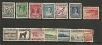 Newfoundland 1932 KGV Set Mint Hinged