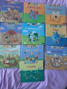 Lot de10 livres KIDIDOC - Nathan / livres animés