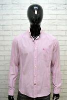 BURBERRY BRIT Camicia a Righe Uomo Taglia L Maglia Camicetta Shirt Men's Casual