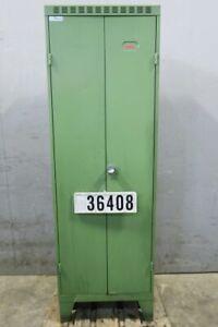 Dick Spind Umkleidespind Stahlspind Kleiderschrank Garderobe #36408