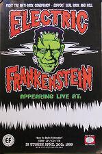 ELECTRIC FRANKENSTEIN POSTER (Y4)