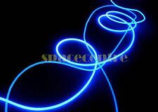 6mm 3m side glow optical fiber car garden room decoration side light optic fibre