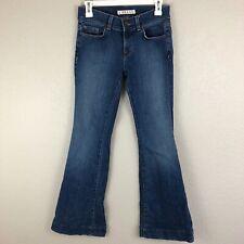 J Brand Womens 27 Love Story Flare Jeans Medium Wash Bell Bottoms Denim 1994 Cut