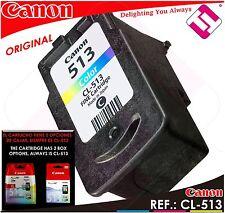 TINTA COLOR CANON CL 513 XL ORIGINAL CARTUCHO TRICOLOR IMPRESORA CL-513XL OFERTA