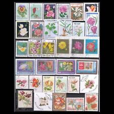 Postage Stamps Flowers 200pcs Unused New Post Marks Stampel Collection Worldwide