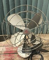 "Vintage Hunter 18"" Oscillating 3 Speed Fan Model CG1-6  Rare"