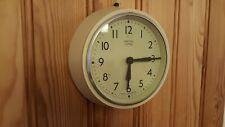 Vintage 1950s SMITHS Delhi Minor bakelite School Wall Clock Excellent