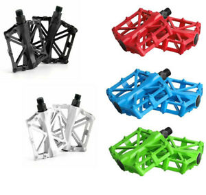 Alloy Mountain Bike Pedal Road MTB Bicycle Nonslip Set Cycling Pedals 9/16""