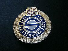 EXTRA RARRE badge - CROATIA FIT PROTECTION -  FIT ZAŠTITA- big badge !