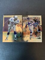 1996 & 1997 Michael Irvin Dallas Cowboys Upper Deck SP Authentic Lot Of (2)
