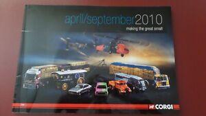 Corgi April to September 2010 Catalogue - (Soft Cover)