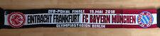 Eintracht Frankfurt - FC Bayern München Pokalfinale 2018 Schal Fanschal Fussball