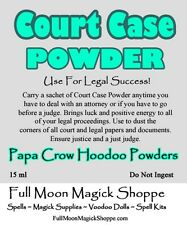 Court Case Hoodoo Voodoo Ritual Dust Positive Court Case And Legal Matters