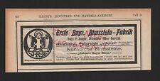 Schwaben, publicidad 1908, hugo p. Jaeger piedra pomez-fábrica