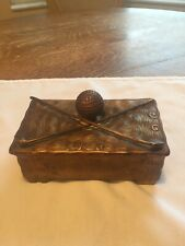 Vintage Golf Ball Clubs Box