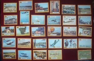 BUBBLE GUM CARDS A&BC 1970 BATTLE of BRITAIN CARDS (MISSING 29 & 61)