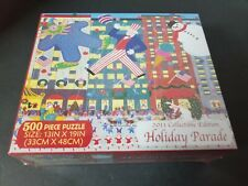 500 pc Puzzle: Holiday Parade by Briarpatch, Brand New & Sealed