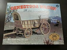 Conestoga Wagon Wooden Kit by Allwood Brand Wood Kits 1/16 Scale - Complete -