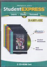 CD-ROM:  PRENTICE-HALL STUDENT EXPRESS......LEARN*STUDY*SUCCEED SAMPLER.....NEW