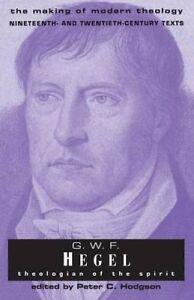 G.W.F.Hegel: Theologian of the Spirit by Bloomsbury Publishing PLC...