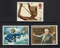 GB 1972 Commemorative Stamps~Anniversaries~Unmounted Mint Set~UK Seller