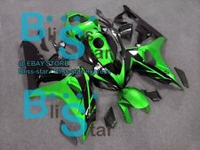 Green Glossy INJECTION Fairing Fit Honda CBR1000RR 2006-2007 07 A2