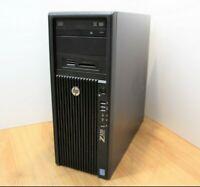 HP Z420 Workstation Windows 10 Tower PC Intel Xeon E5 1620 V2 3.7GHz 24GB 1TB