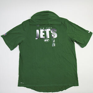 New York Jets Nike Dri-Fit Short Sleeve Shirt Men's Green New with Tags