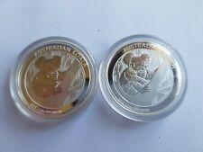 2x 2013 1/2 oz 999 Silver Australian Koala coins Round Bullion coin Brilliant U.